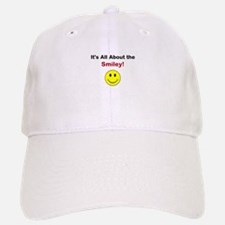 Its all about the Smiley! Baseball Baseball Cap
