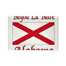 Bayou La Batre Alabama Rectangle Magnet