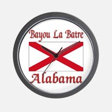 Bayou La Batre Alabama Wall Clock