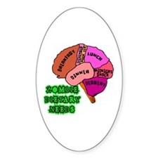 Zombies Need Brains! Decal