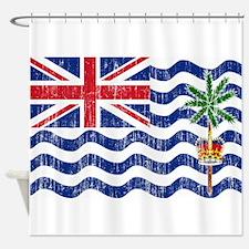 British Indian Ocean Territories Flag Shower Curta