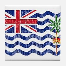 British Indian Ocean Territories Flag Tile Coaster
