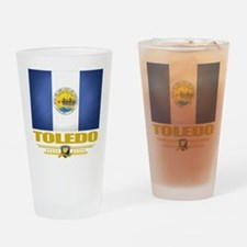 Toledo (Flag 10).png Drinking Glass