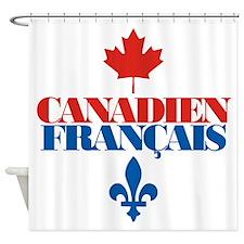 Canadien Francais 5.png Shower Curtain