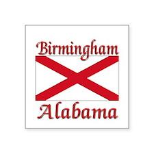 """Birmingham Alabama Square Sticker 3"""" x 3&quot"""