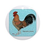 Tournaisis Rooster Ornament (Round)