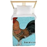 Tournaisis Rooster Twin Duvet