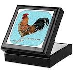 Tournaisis Rooster Keepsake Box