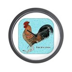 Tournaisis Rooster Wall Clock