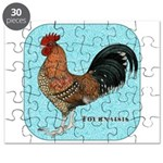 Tournaisis Rooster Puzzle