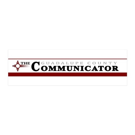 a new new communicator logo.jpg 36x11 Wall Decal