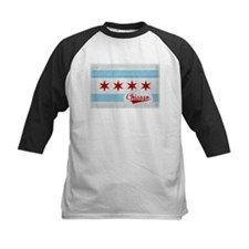 Vintage Chicago Flag Design Tee