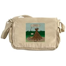 Knots Leave No Trace Bonfire Messenger Bag
