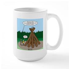 Knots Leave No Trace Bonfire Mug