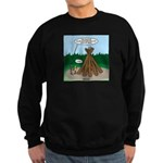 Knots Leave No Trace Bonfire Sweatshirt (dark)