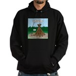 Knots Leave No Trace Bonfire Hoodie (dark)