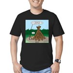 Knots Leave No Trace Bonfire Men's Fitted T-Shirt
