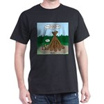 Knots Leave No Trace Bonfire Dark T-Shirt