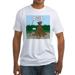 Knots Leave No Trace Bonfire Fitted T-Shirt