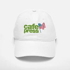 CafePress American Flag Baseball Baseball Cap