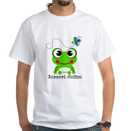 Support Autism shirt White T-Shirt