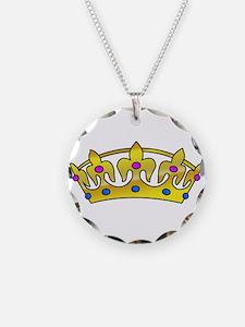 Golden Crown Necklace