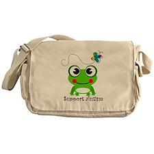 Support Autism shirt Messenger Bag
