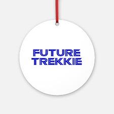Future Trekkie Ornament (Round)