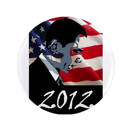 "Obama 2012 3.5"" Button (100 pack)"