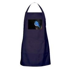 Mountain Blue Bird Apron (dark)
