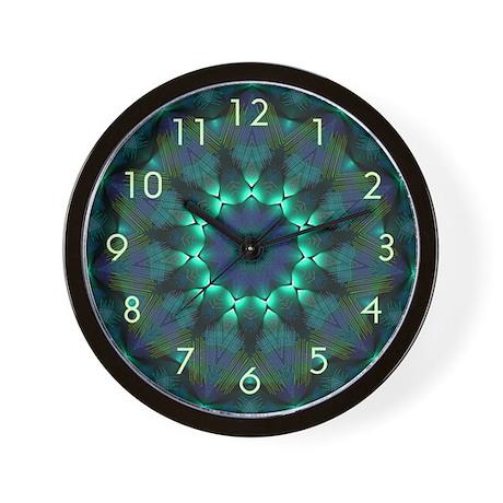 K-Scope Glow - Teal Wall Clock