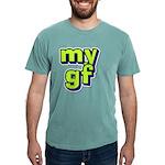 Monogram - Harkness Men's Fitted T-Shirt (dark)