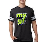 Monogram - Harkness Organic Men's T-Shirt (dark)