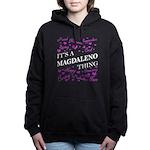 Monogram - Harkness Women's V-Neck Dark T-Shirt