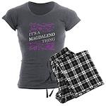 Monogram - Harkness Organic Women's Fitted T-Shirt