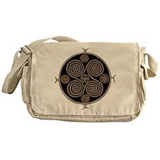 Norse Spiral Design Messenger Bag
