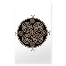 Norse Spiral Design Decal