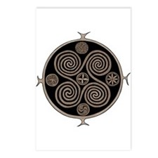 Norse Spiral Design Postcards (Package of 8)
