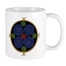 Norse Spiral Design Mug
