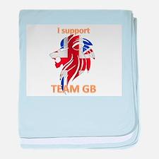 Team GB Supporter baby blanket