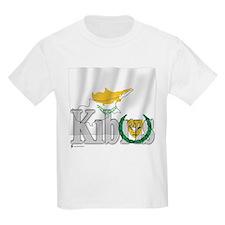 Silky Flag of Cyprus (Turkish) Kids T-Shirt
