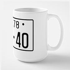 Large Mug - FJ40 JDM licence plate