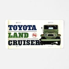 Cute Toyota Aluminum License Plate