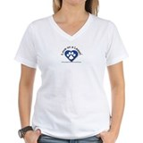 Animals cats Womens V-Neck T-shirts