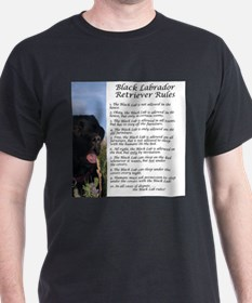 Black Lab Rules T-Shirt