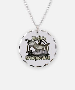 Worlds greatest dad Necklace