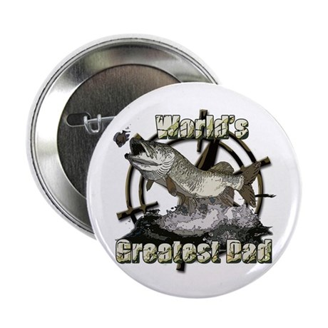 "Worlds greatest dad 2.25"" Button (10 pack)"