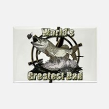 Worlds greatest dad Rectangle Magnet (10 pack)