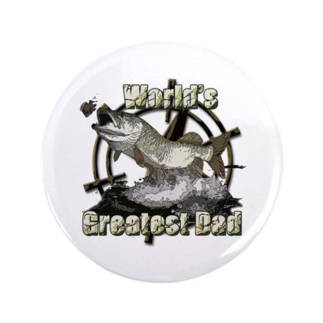 "Worlds greatest dad 3.5"" Button"