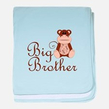 Big Brother Monkey.png baby blanket